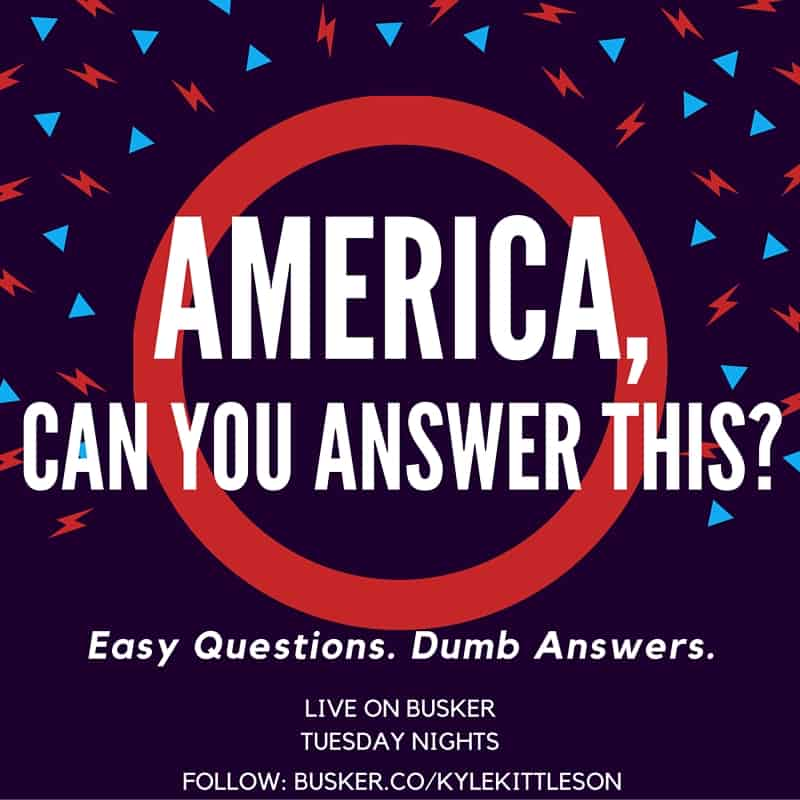 America, Can You Answer This-