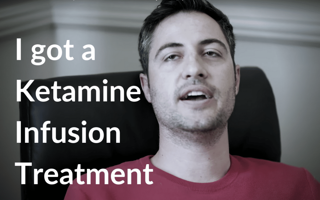 I Got a Ketamine Infusion Treatment for Depression